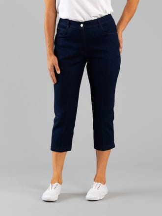Intense Denim 3/4 Pant