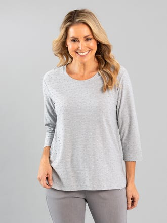 Shiri 3/4 Sleeve Top
