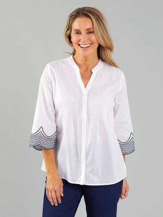 Kanza 3/4 Sleeve Shirt