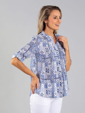 Khaite 3/4 Sleeve Shirt