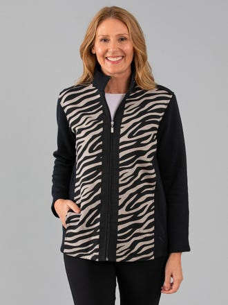 Hopeton Snowy Mt Fleece Jacket