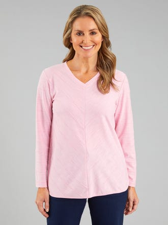 Melio V Neck Top