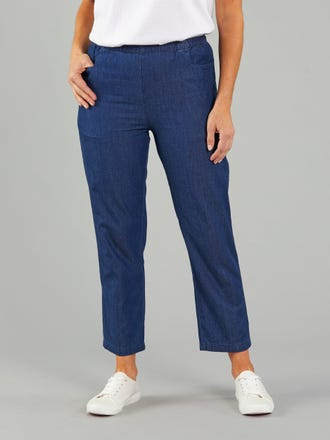 Nashville Denim Short Length Pant