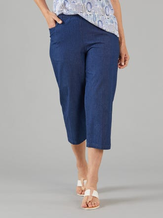 Nashville Denim 3/4 Pant