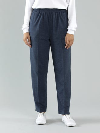 Raw Spun Cotton Short Length Pant