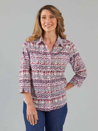Cambria 3/4 Sleeve Shirt