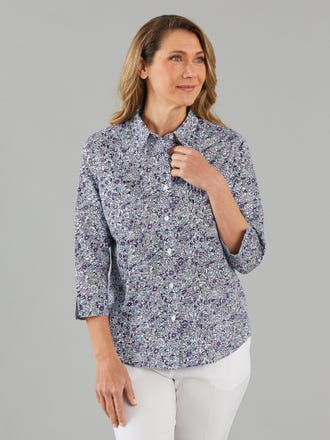 Hallee 3/4 Sleeve Shirt