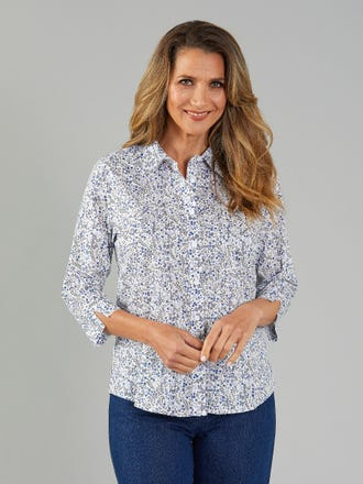 Dovette 3/4 Sleeve Shirt