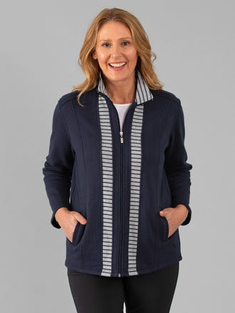 Edwina Snowy Mt Fleece Jacket