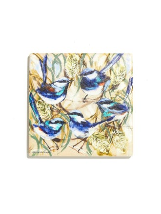 Banksia And Wrens Coaster