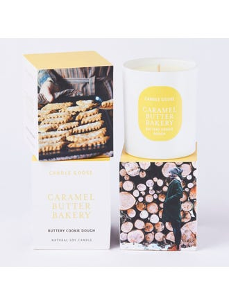 Caramel Buttery Large Candle