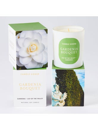 Gardenia Bouquet Med Candle