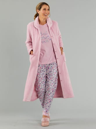 Avie Plush Dressing Gown