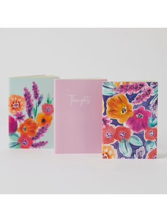 3 Pack Notebooks
