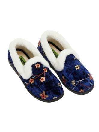 ONLINE EXCLUSIVE - Emille Embroidered Slipper