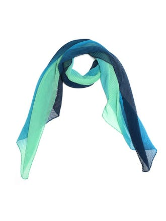 OCA Pleated Ombre Scarf