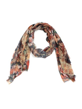 Autumnal Roses Scarf