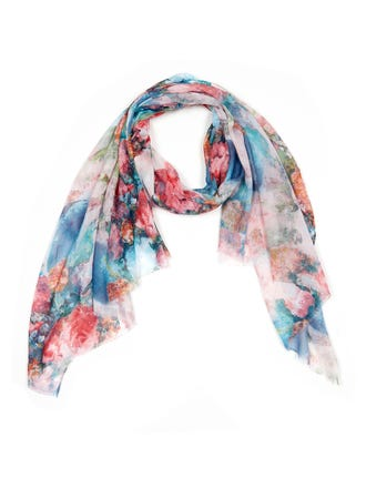 Floral Field Scarf
