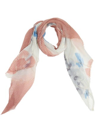 Luxe Pleated Scarf