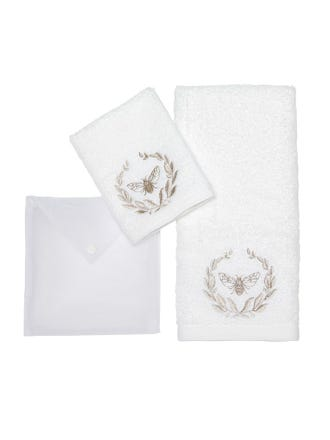 Bee Hand Towel Pack