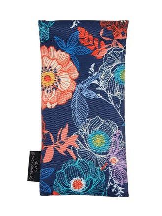 Spectacle Case Floral Sketch